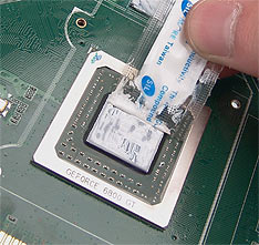 Spreading Thermal Paste